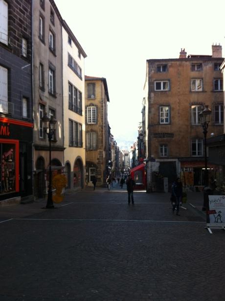 Clermont-Ferrand town centre